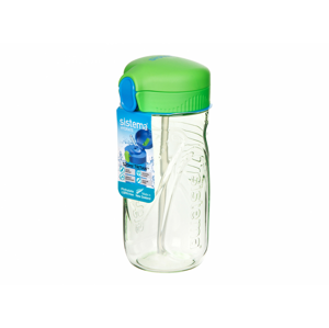 Láhev Sistema Quick Flip 520ml Barva: zelená
