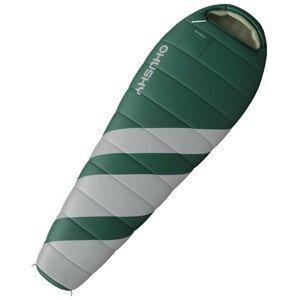 Spacák Husky Outdoor Magnum Zip: Pravý / Barva: zelená