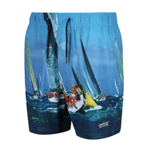 Pánské plavky Regatta Mawson SwShort II Velikost: M / Barva: modrá