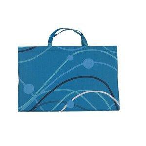 Plážové lehátko Yate Barva: modrá
