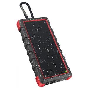 Solární powerbanka Outxe Savage IP67 - 24000mAh Barva: černá