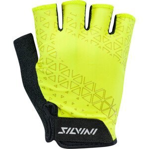 Pánské cyklo rukavice Silvini Orso MA1639 Velikost rukavic: L / Barva: žlutá