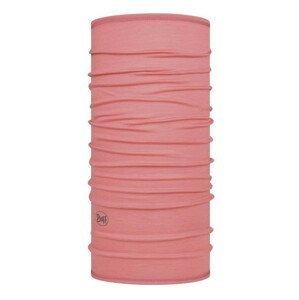 Šátek Buff Lightweight Merino Wool Barva: růžová