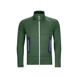 Pánská mikina Ortovox Fleece Light Jacket M Velikost: L / Barva: zelená