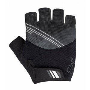 Dámské rukavice Etape Liana Velikost rukavic: L / Barva: černá/bílá