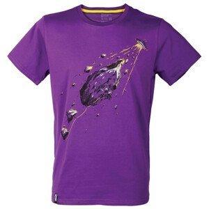 Pánské triko Singing Rock Rocket Velikost: L / Barva: fialová