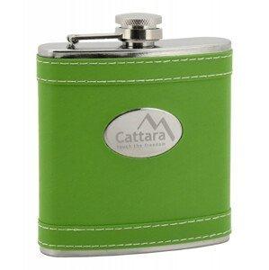 Lahev placatka Cattara zelená 175ml Barva: světle zelená