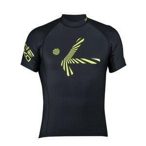 Pánské triko Hiko Shade Plush kr. r. Velikost: XS / Barva: černá