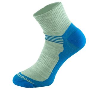 Ponožky Zulu Merino Lite Man 3 pack Velikost ponožek: 39-42 / Barva: šedá/modrá