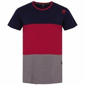 Pánské triko Rafiki Leonidio Velikost: XL / Barva: modrá/červená