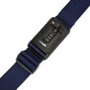 Popruh se zámkem Pacsafe Strapsafe 100 Luggage Strap Barva: modrá