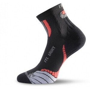 Funkční ponožky Lasting ITL Velikost ponožek: 34-37 / Barva: černá/červená