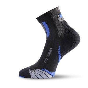 Ponožky Lasting ITL Velikost ponožek: 38-41 / Barva: černá/modrá