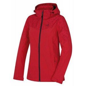 Dámská bunda Hannah Frida Lite Velikost: S / Barva: červená