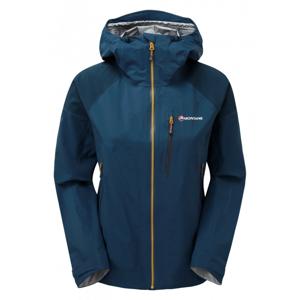 Dámská bunda Montane Women's Fleet Jacket Velikost: S / Barva: modrá