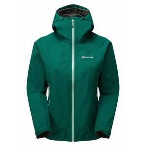 Dámská bunda Montane Women's Pac Plus Jacket Velikost: XL / Barva: zelená