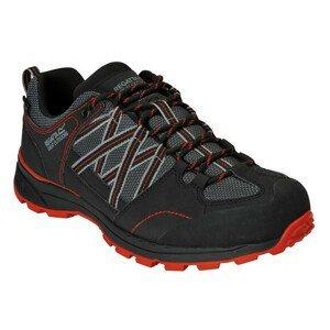 Pánské boty Regatta Samaris Low II Velikost bot (EU): 42 / Barva: černá/červená