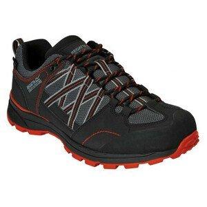 Pánské boty Regatta Samaris Low II Velikost bot (EU): 46 / Barva: černá/červená