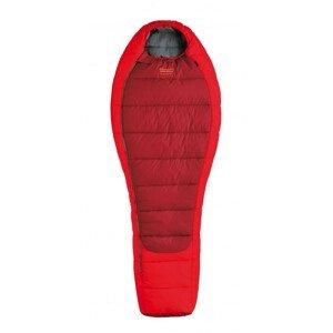 Spacák Pinguin Comfort 195 cm Zip: Levý / Barva: červená
