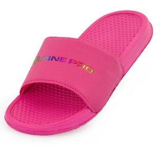 Dámské pantofle Alpine Pro Akada Velikost bot (EU): 37 / Barva: růžová