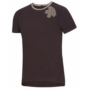Pánské triko Ocún Bamboo T Velikost: S / Barva: hnědá