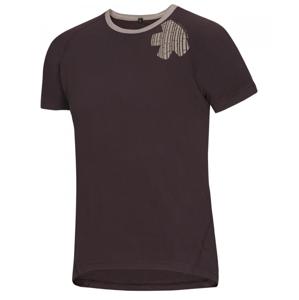Pánské triko Ocún Bamboo T Velikost: M / Barva: hnědá