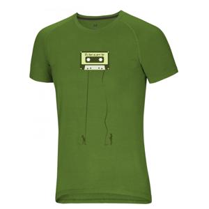 Pánské triko Ocún Raglan T Velikost: S / Barva: zelená