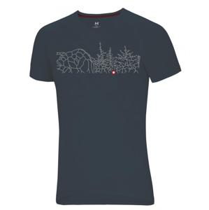 Pánské triko Ocún Raglan T Velikost: S / Barva: šedá