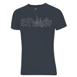 Pánské triko Ocún Raglan T Velikost: M / Barva: šedá
