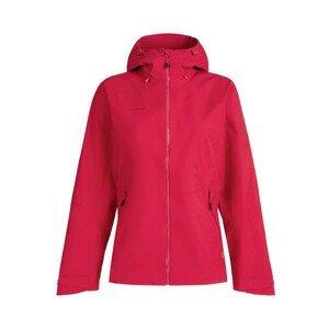 Dámská bunda Mammut Convey Tour HS Hooded Jacket Velikost: L / Barva: červená/růžová
