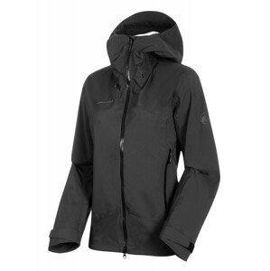 Dámská bunda Mammut Kento HS Hooded Jacket Women Velikost: L / Barva: černá