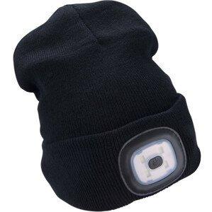 Čepice s čelovkou Extol Light Barva: černá