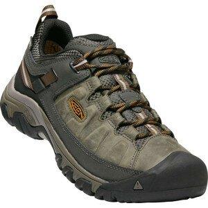 Pánské boty Keen Targhee III WP M Velikost bot (EU): 41 / Barva: zelená/hnědá
