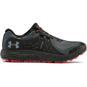 Pánské běžecké boty Under Armour Charged Bandit Trail GTX Velikost bot (EU): 45 / Barva: černá/červené švy