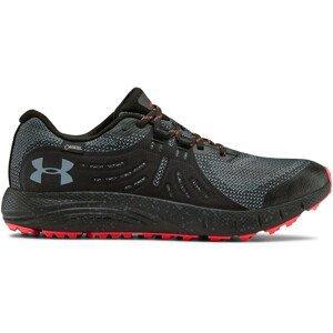 Pánské běžecké boty Under Armour Charged Bandit Trail GTX Velikost bot (EU): 46 / Barva: černá/červené švy