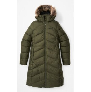 Dámský kabát Marmot Wm's Montreaux Coat Velikost: L / Barva: tmavě zelená