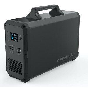 Nabíjecí stanice Nano Solar Compactor 2400 Barva: černá