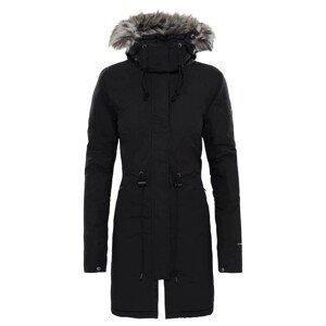 Dámský kabát The North Face Recycled Zaneck Parka Velikost: M / Barva: černá