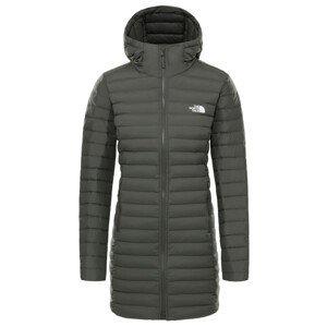 Dámská péřová bunda The North Face Stretch Down Parka Velikost: XS / Barva: šedá