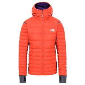 Dámská péřová bunda The North Face Speedtour Down Hoodie Velikost: L / Barva: oranžová
