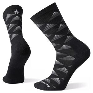 Ponožky Smartwool Hike Light Elite Burgee Crew Velikost ponožek: 46-49 (XL) / Barva: černá/bílá