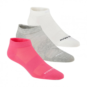 Dámské ponožky Kari Traa Tafis Sock 3PK Velikost ponožek: 36-38 / Barva: růžová/bílá