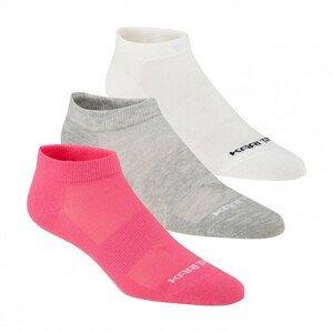 Dámské ponožky Kari Traa Tafis Sock 3PK Velikost ponožek: 39-41 / Barva: růžová/bílá