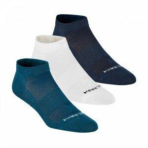 Dámské ponožky Kari Traa Tafis Sock 3PK Velikost ponožek: 39-41 / Barva: bílá/modrá
