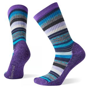 Dámské ponožky Smartwool W Hike Light Margarita Crew Velikost ponožek: 38-41 / Barva: fialová
