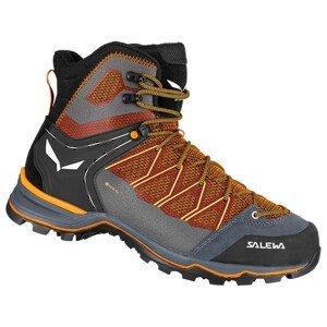 Pánské boty Salewa Ms Mtn Trainer Lite Mid Gtx Velikost bot (EU): 46,5 / Barva: černá/oranžová