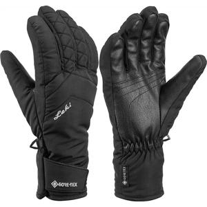 Dámské lyžařské rukavice Leki Sveia GTX Lady Velikost rukavic: 7,5 / Barva: černá