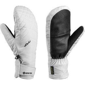 Dámské lyžařské rukavice Leki Sveia GTX Lady Mitt Velikost rukavic: 6,5 / Barva: bílá