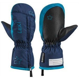 Dětské lyžařské rukavice Leki Little Snow Mitt Velikost rukavic: 4 / Barva: modrá