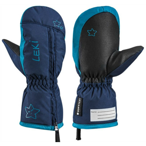 Dětské lyžařské rukavice Leki Little Snow Mitt Velikost rukavic: 5 / Barva: modrá